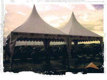 Tenda untuk pameran