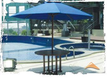 Contoh Tenda Payung untuk di Pantai