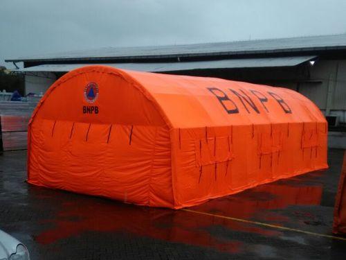 tenda pengungsi BNPB
