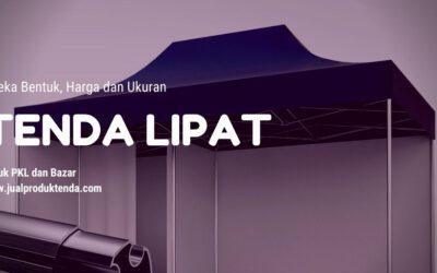 Tenda Lipat Untuk Pedagang Kaki Lima (PKL) dan Bazar