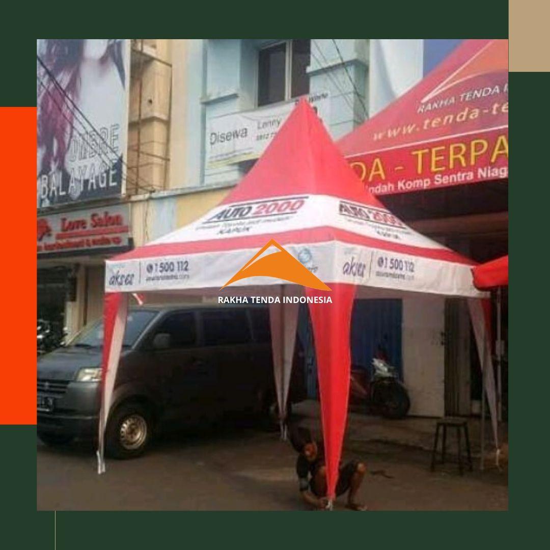 Tenda Lipat Jualan Kuliner Depan Ruko